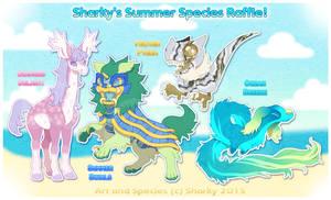 Sharky's Summer Species Raffle [CLOSED]