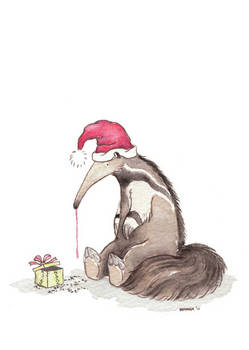 A Happy Day for Mr. Anteater