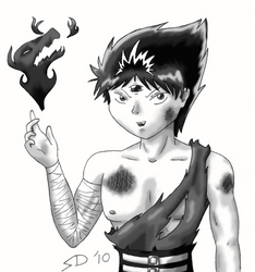Colorless Hiei by Frozen-Fortune