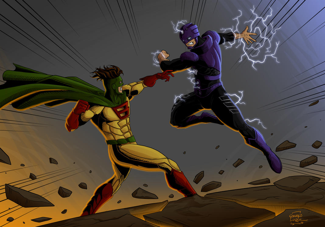 Choque de Heroes - Capitan Barato vs. Alto Voltaje by GonzaloLuque