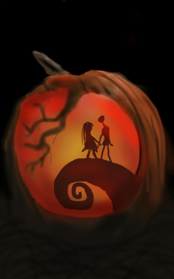 Nightmare Before Christmas Pumpkin Carving by TheHunterCow ...