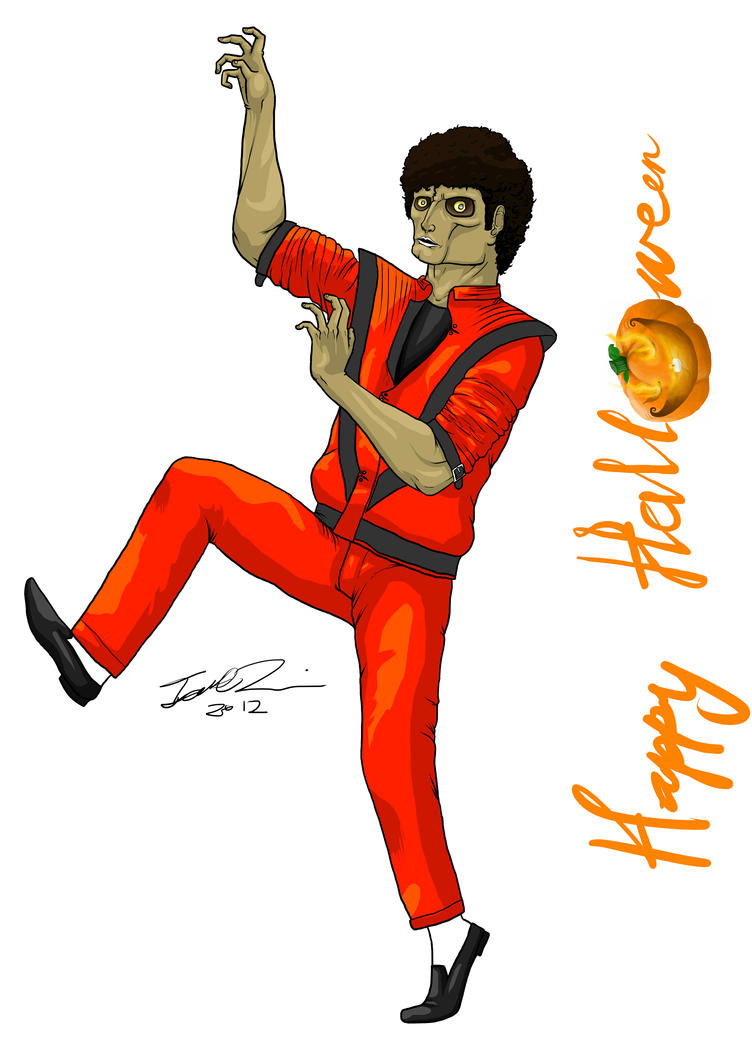 happy halloween michael jackson thriller by mangledangle