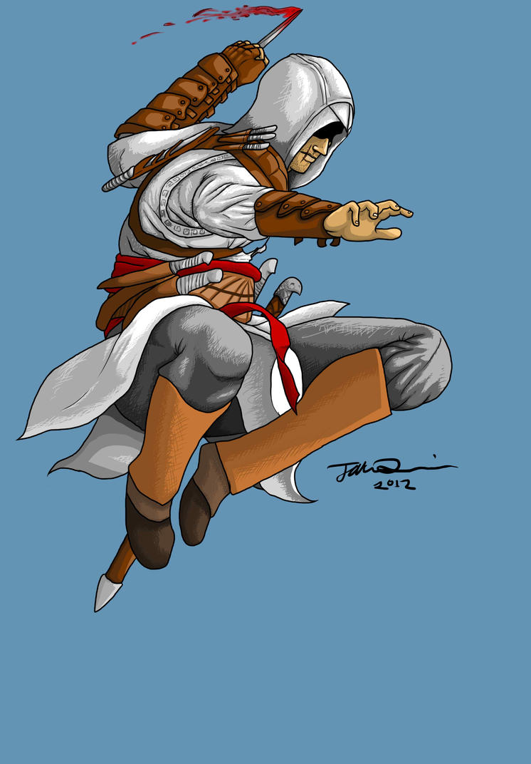 Altair Ibn-La'Ahad by MangleDangle