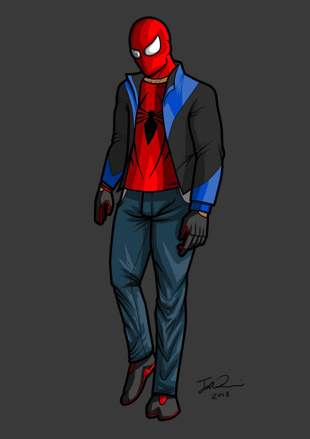 Spiderman Redesign by MangleDangle on DeviantArt: mangledangle.deviantart.com/art/Spiderman-Redesign-353492902