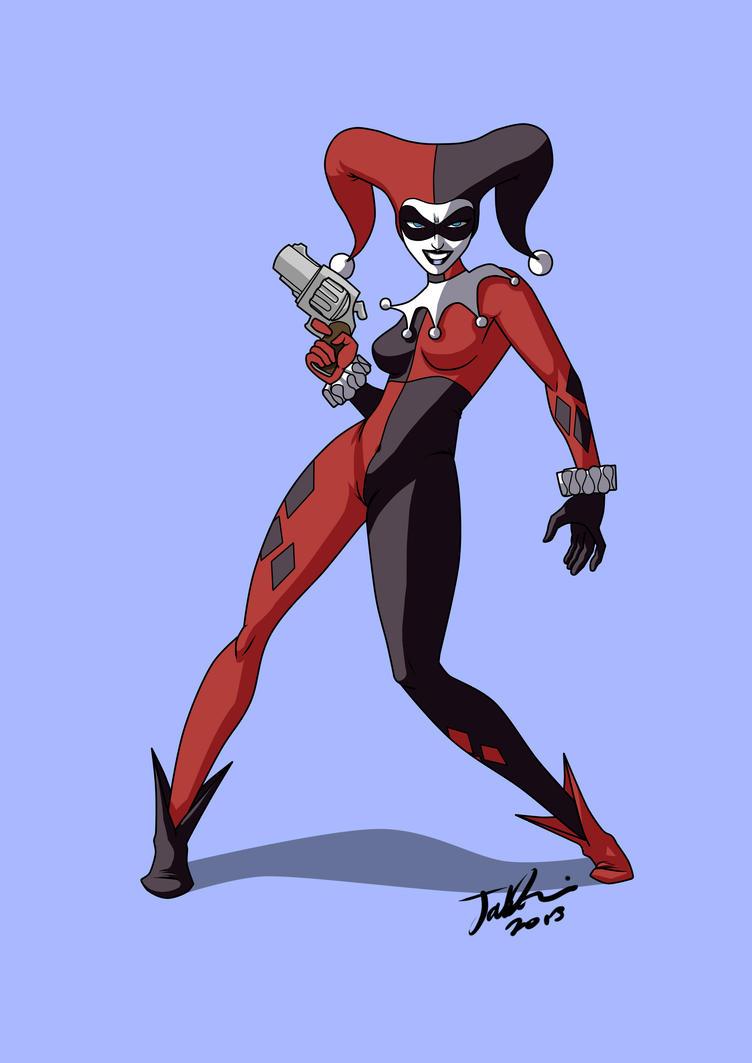 Harley Quinn Animated by MangleDangle