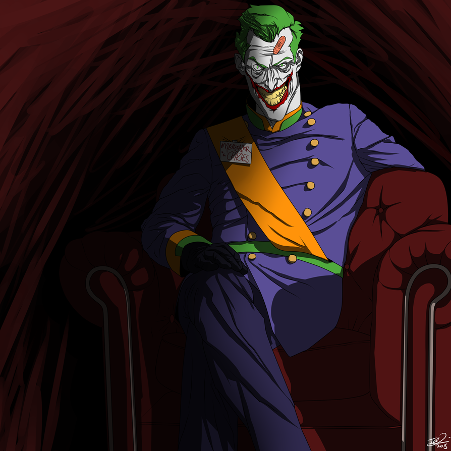 Parade Of The Joker by MangleDangle