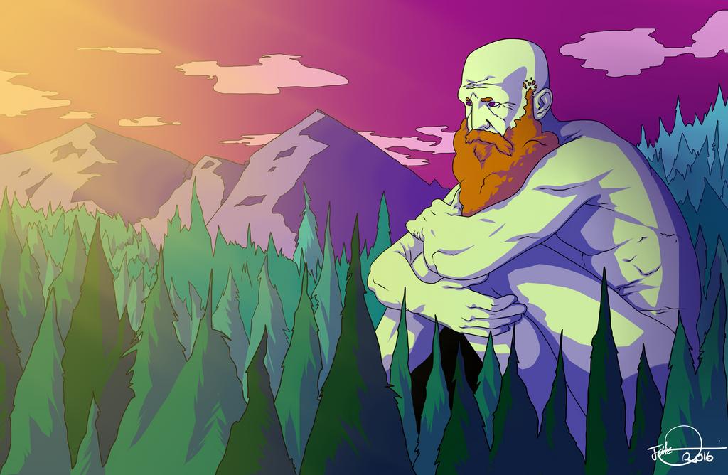 A Giants Sorrow by MangleDangle