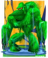Swamp-Ape by sosnw