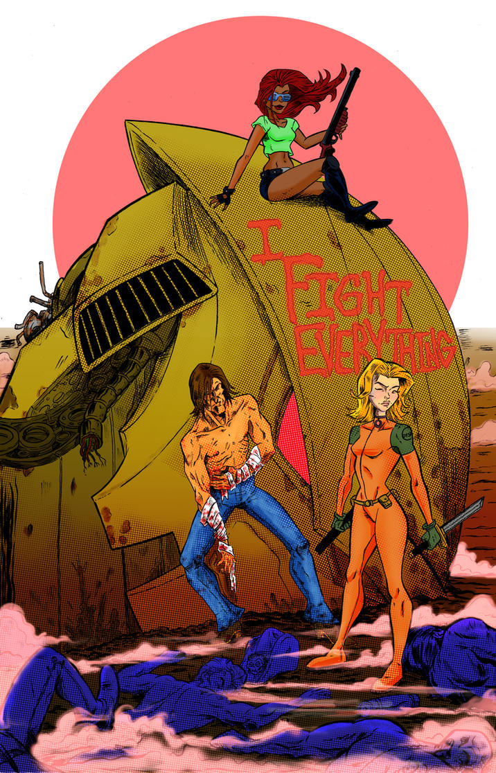 I FIght Everything 3 by sosnw