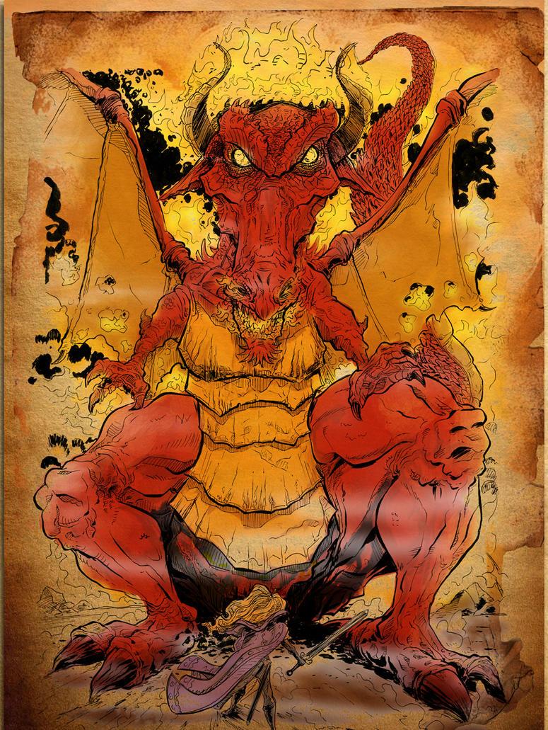 Dragon-web by sosnw