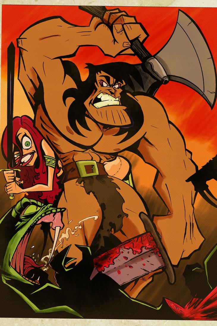 The Vile Venomous Viper Hordes by sosnw