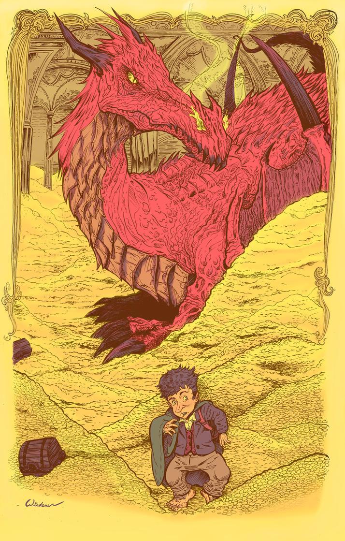 Hobbit Hunt- color by sosnw