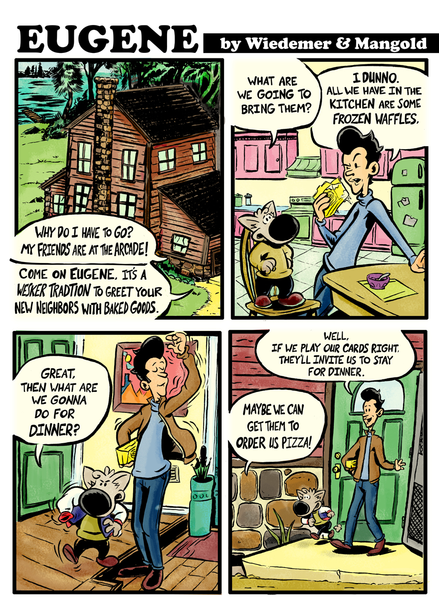 Eugene Strip 1 by sosnw