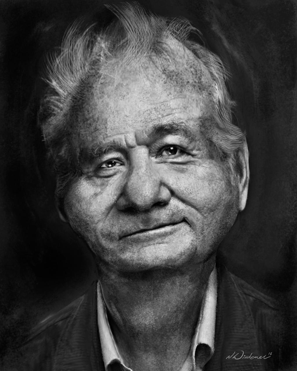 Bill Murray by sosnw