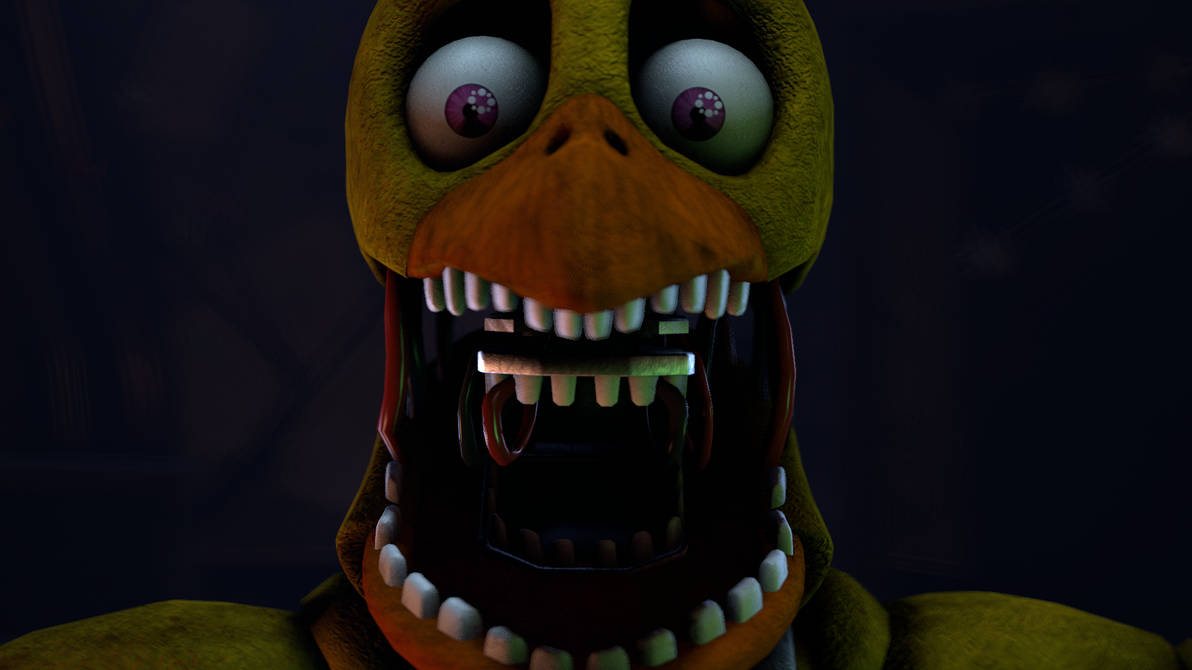 Withered Chica Jumpscare by XGBXDasian on DeviantArt