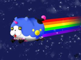 .:KH:. Dream Eater as Nyan Cat by MitskiMing