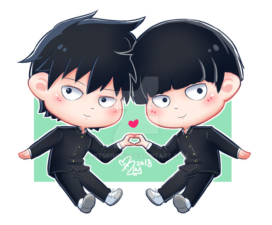 Brothers series: Mob Psycho 100 by MitskiMing