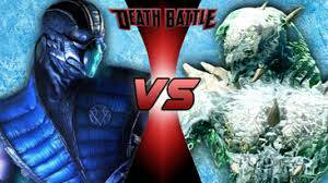 Sub-Zero vs Glacius DEATH BATTLE! by Bigdaddy9716