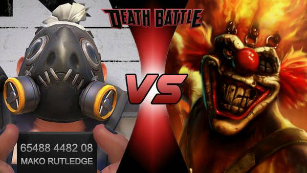 Road Hog vs Sweet Tooth DEATH BATTLE!  by Bigdaddy9716