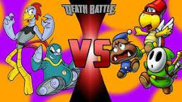 Scratch and Grounder vs The Trio DEATH BATTLE!!! by Bigdaddy9716