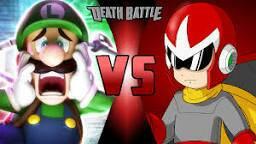 Match Sale: Luigi vs Protoman by Bigdaddy9716
