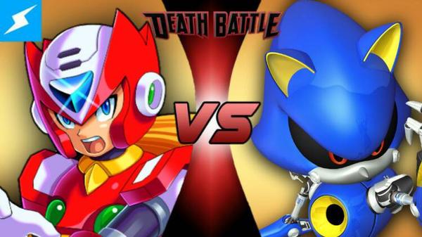 NEXT TIME ON DEATH BATTLE!: Zero vs Metal Sonic by Bigdaddy9716