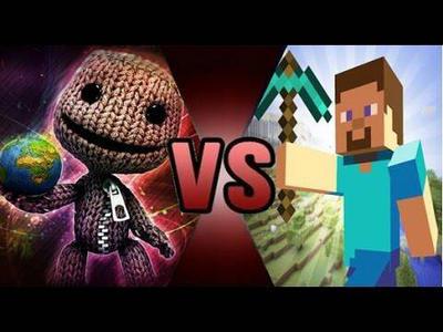 Sackboy vs Steve DEATH BATTLE! by Bigdaddy9716