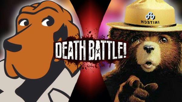 Sale: McGruff vs Smokey DEATH BATTLE!! by Bigdaddy9716