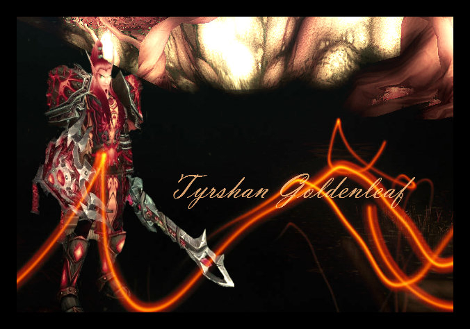 Tyrshan Goldenleaf poster-edit by The-Serene-Mage