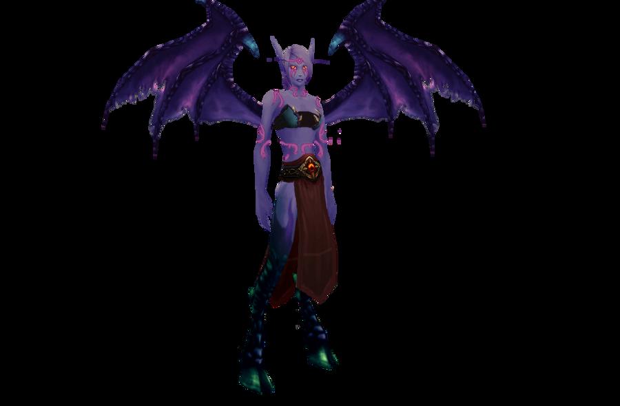 Sallaria's demon form full body by The-Serene-Mage on DeviantArt