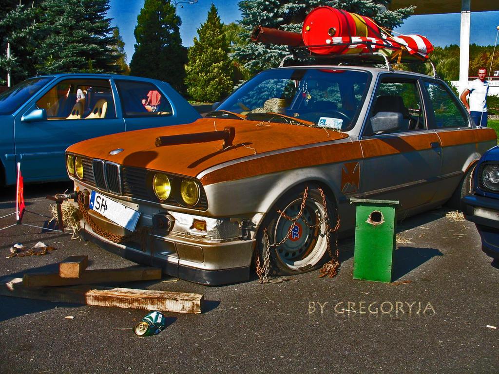 BMW Style Rat
