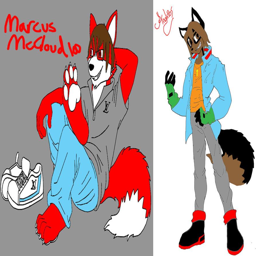 MarcusMcCloud100 Versus Anglrios (RAP BATTLE) by MarcusMcCloud100
