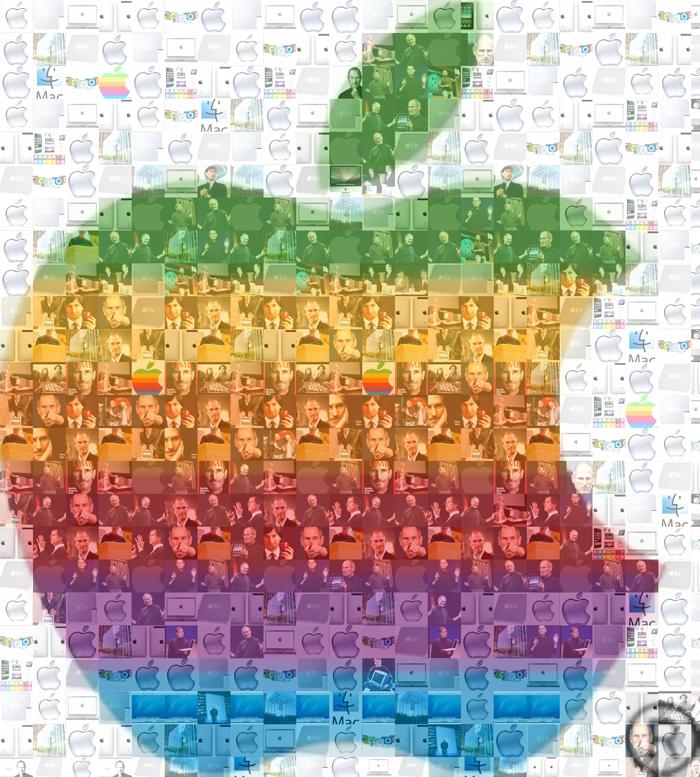 Steve Jobs Mosaic by wflead