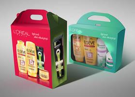 Loreal Garnier Packages by VanSage