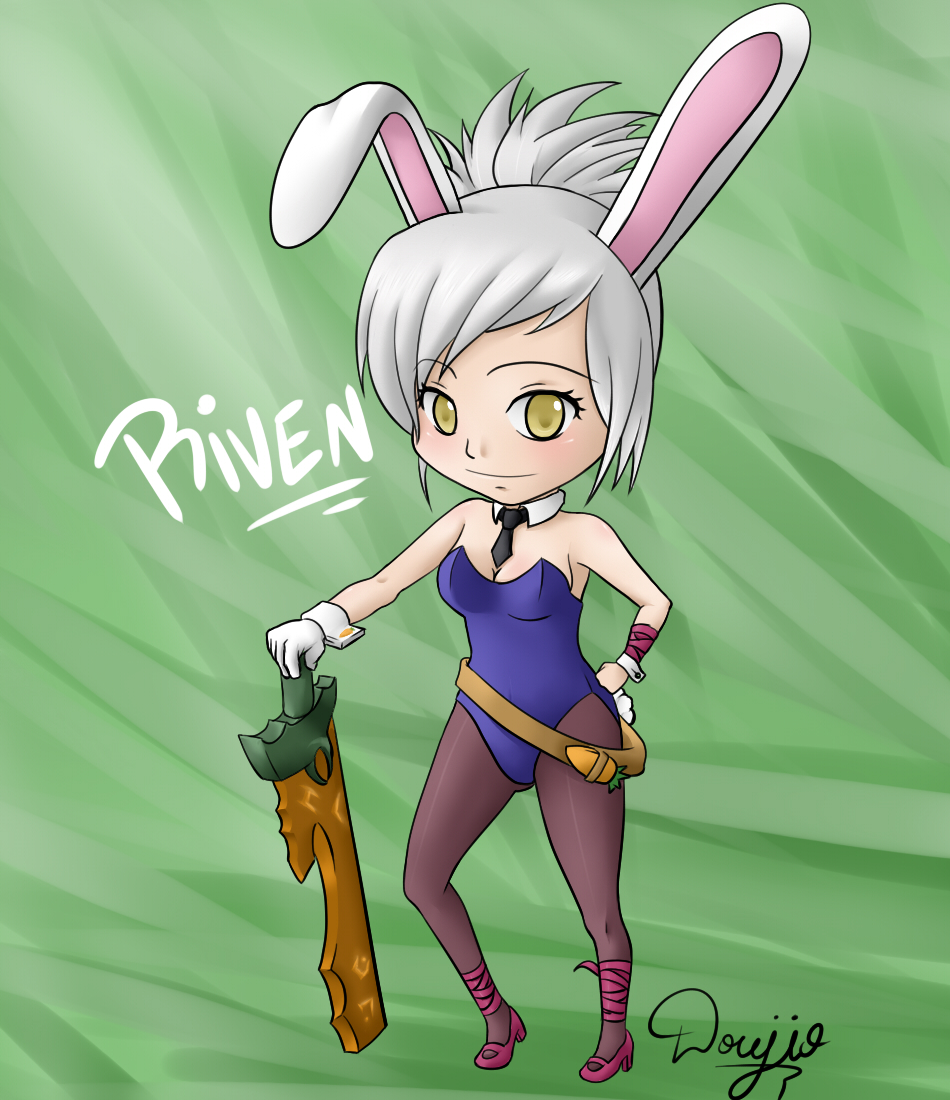 Riven (Chibi), The Exile in Bunny Suit by Doujio