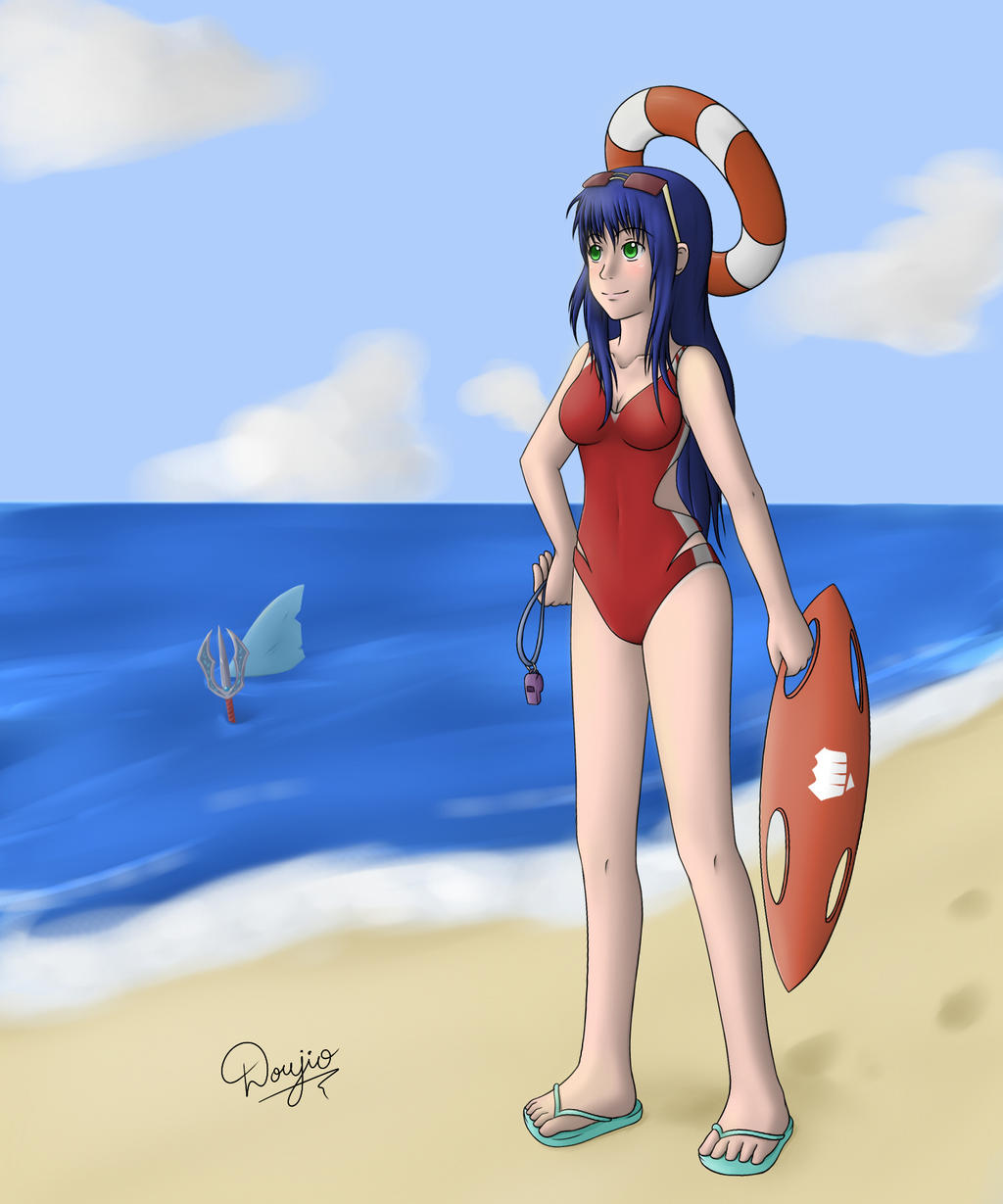 Lifeguard Irelia by Doujio