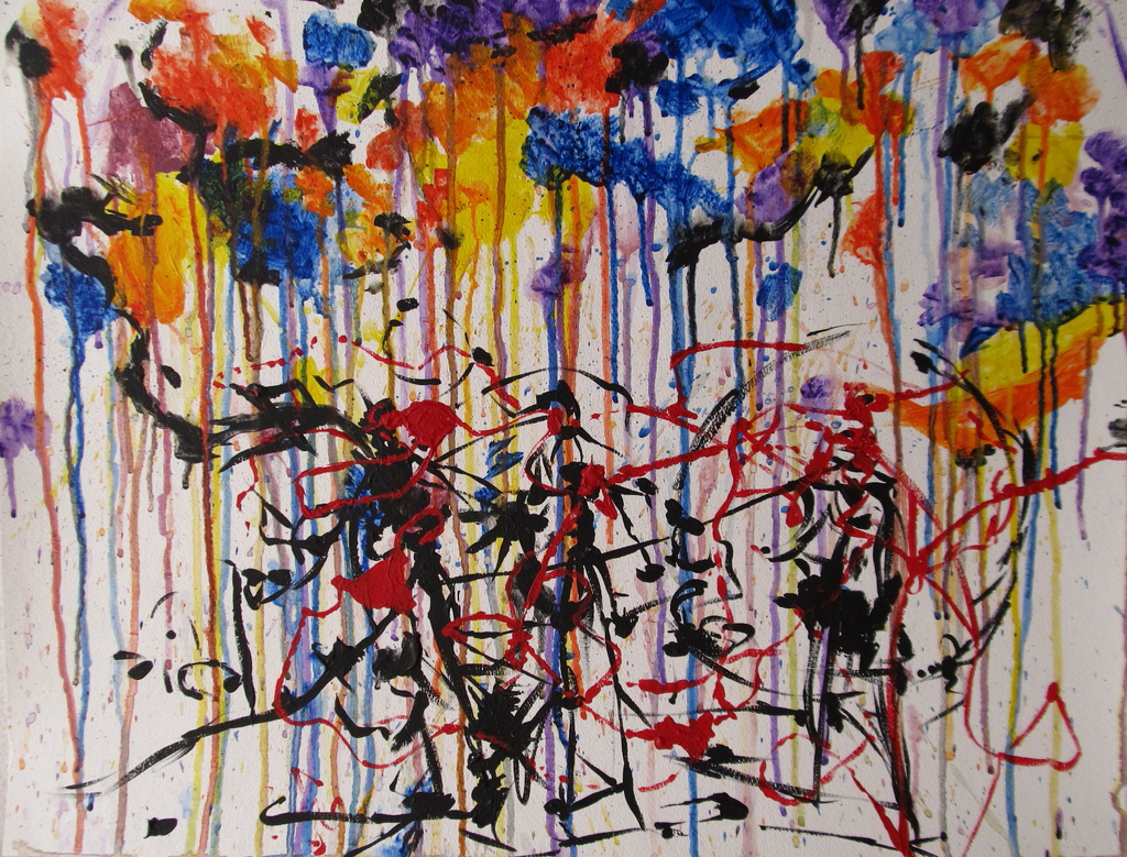 Modern Art Line Painting : Abstract expressionism by sageofmagic on deviantart