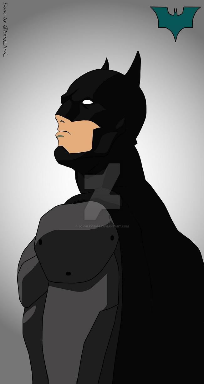 Batman  by JohnLevi1999