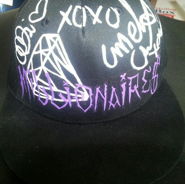 signed millionaires flatcap by The-Tinkerwitch