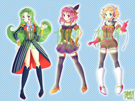 DISCOUNTED Idol Girls Adoptables [OPEN]