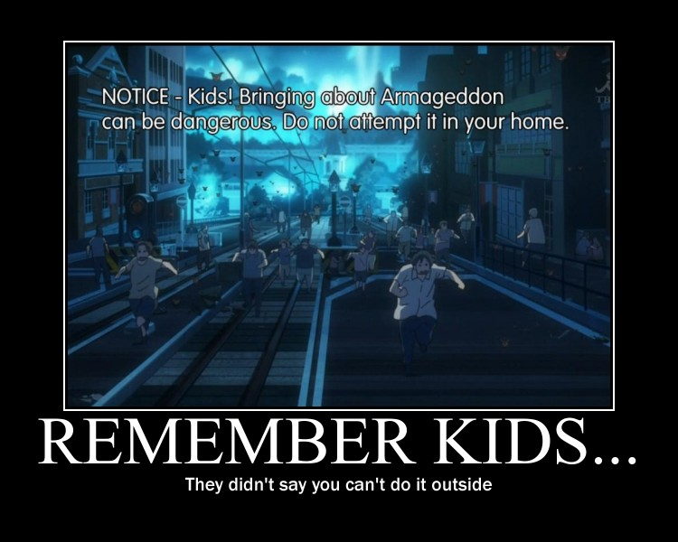 Blue Exorcist Warning Notices by Sprky2008