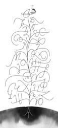 Lettering tree by AndanteSen