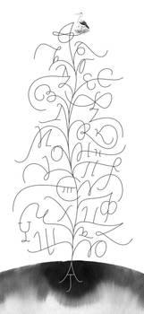 Lettering tree