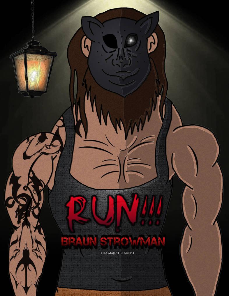 Wwe braun strowman commission by thamajesticartist on deviantart - Braun strowman theme ...