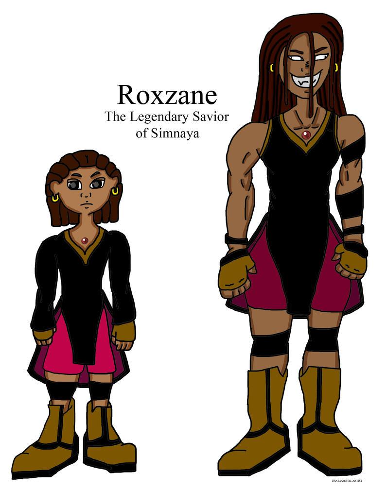 Princess Roxzane by ThaMaJesticArtist