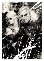 The Witcher (pencil drawing)