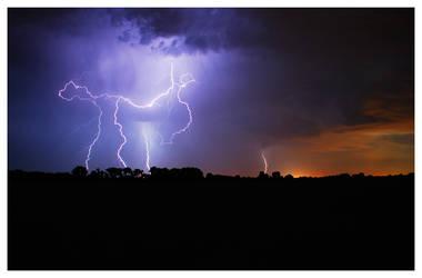 Oklahoma Lightning 005 by aaronbee