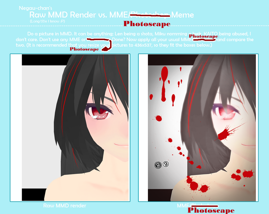 Rei Raw MMD Render MEME by nanackerel