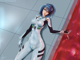 Rei Ayanami by AndyFil