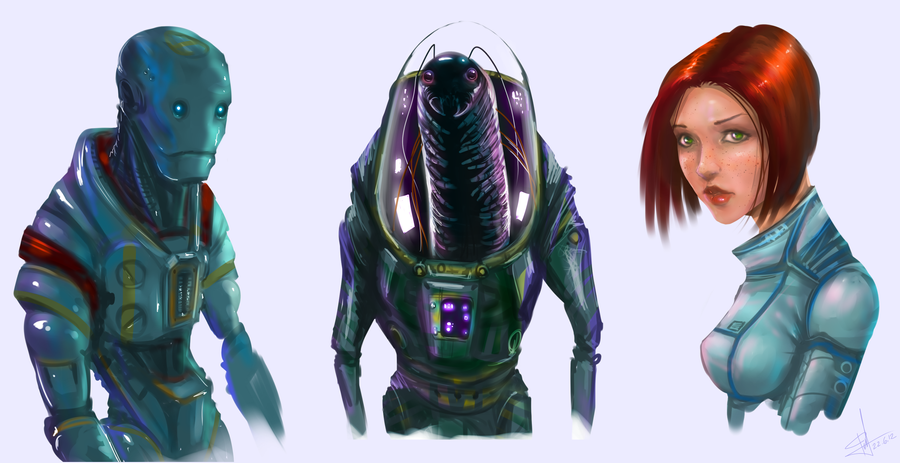 space characters by andyfil on deviantart